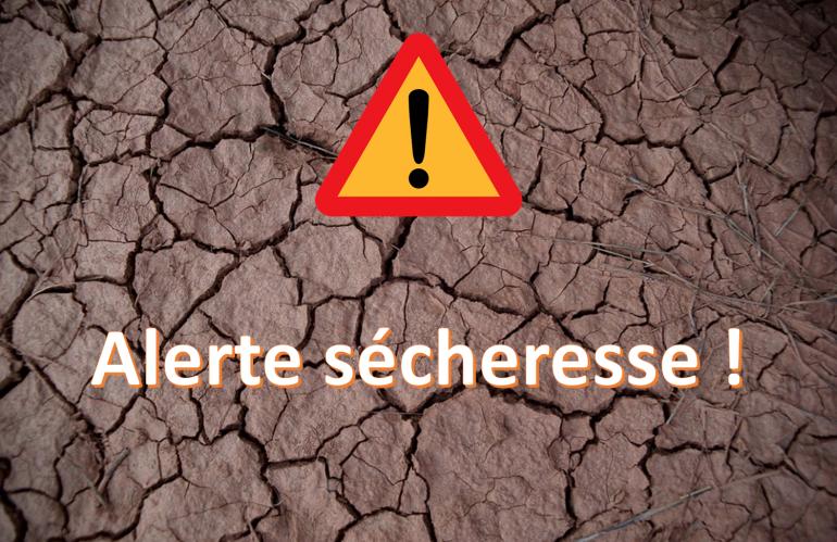 Alerte sécheresse