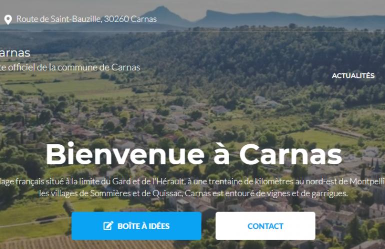 Bienvenue sur le nouveau site de Carnas