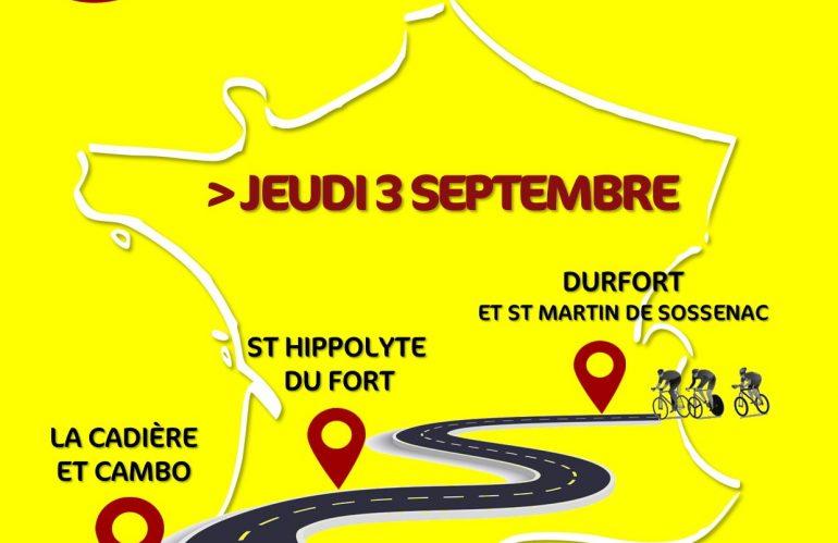 Le Tour de France en Piémont Cévenol !
